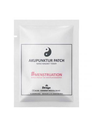 Akupunktur plaster - Menustrationssmerter - Droge