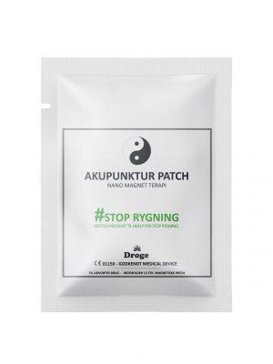 Akupunktur plaster - Rygestop - Droge
