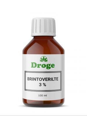 Brinteroverilte 3% - Droge