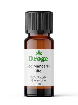 Mandarinolie Rød - Æterisk - Droge