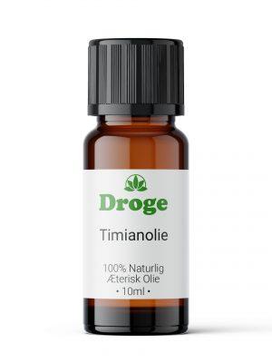 Timianolie - Æterisk - Droge