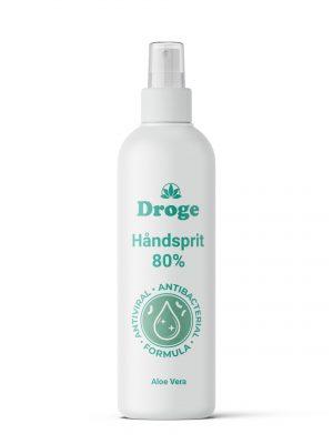 Håndsprit 80% - Aloe Vera - Droge
