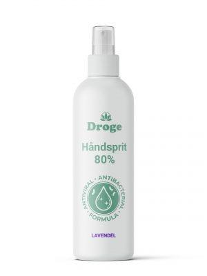 Håndsprit 80% - Lavendel - Droge
