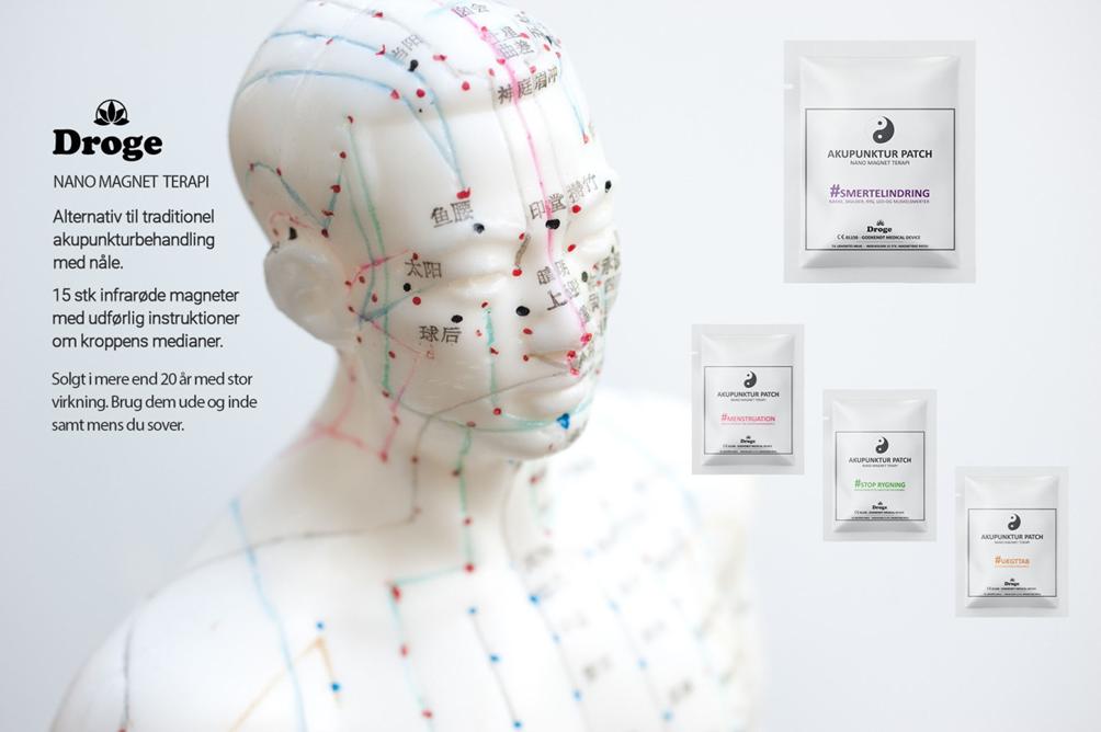 Akupunktur uden nåle: Det er nu muligt at få samme virkning uden at skulle have nåle påsat.